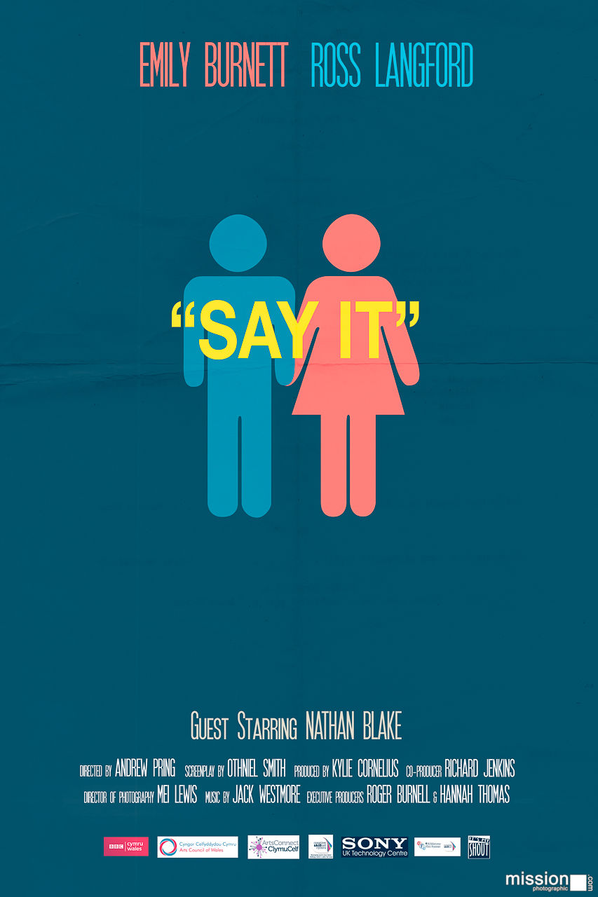 Say It (film poster v1)