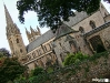 Llandaff Cathedral before ceremony